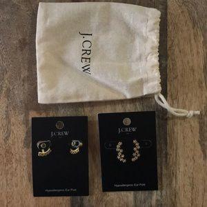 Bundle 2 pairs of J Crew earrings